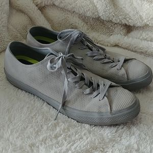 Converse Chuck Taylor Lux leather low top sneakers